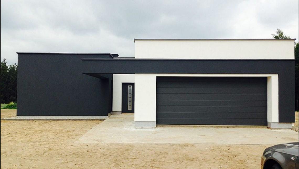 Проект модернового дома
