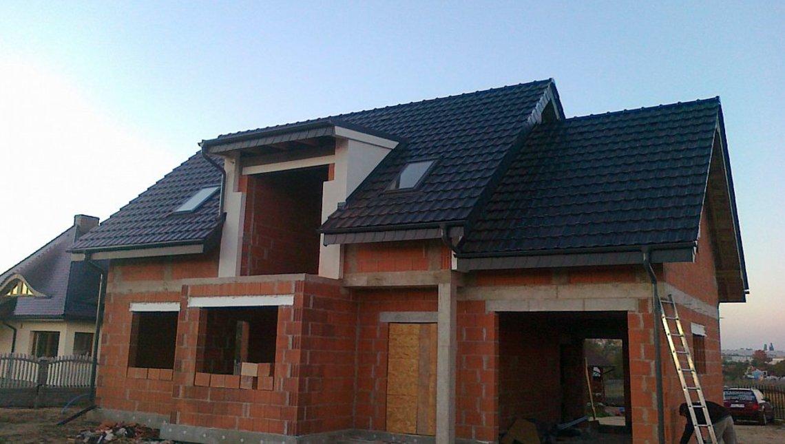 Проект классического сельского дома с элементами модерна