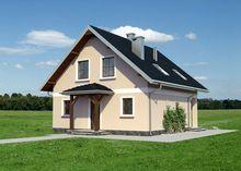 Великолепный двухэтажный дом с завораживающим экстерьером