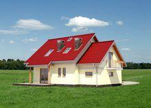 Дом площадью более 150 m² с угловым эркером