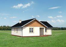 Небольшой дом для городской застройки или дачного участка