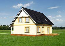 Комфортный дом с тремя спальнями и личным кабинетом