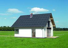 Современный комфортный дом со стеклянным выходом на террасу