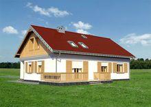 Архитектурный проект коттеджа с комфортабельной планировкой площадью более 100 m²