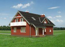 Оригинальный особняк с тремя спальнями и большой гостиной