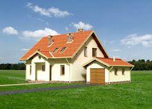 Стильный и ненавязчивый особняк с площадью 170 m²