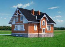 Оригинальная вилла с небольшими классическими балконами