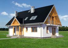 Проект небольшого дома с уютными комнатами