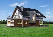 Проект красивого дома с пятью спальнями