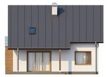 Дом с эркером и кабинетом на первом этаже