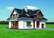 Прекрасный загородный дом с площадью 200 m²