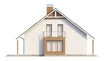 Красивый загородный дом с большими окнами