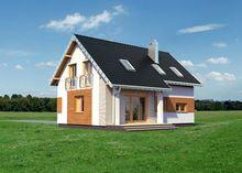 Привлекательный особняк с просторной гостиной зоной