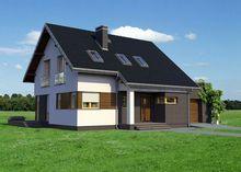 Компактный жилой дом на шесть спален