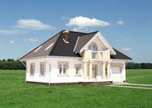 Привлекательный особняк в классическом стиле с пятью спальнями