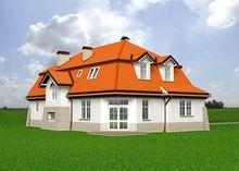План красивого жилого дома площадью 200 м2