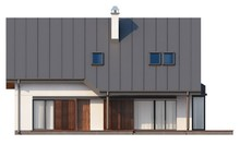 Уютный особнячок с мансардой и гаражом