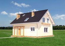 Уютный дом в два этажа для тесной городской застройки