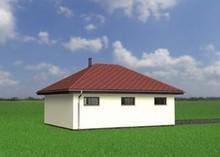 Архитектурный проект отдельного гаража на две машины