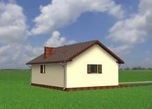 Проект гаража с собственным санузлом