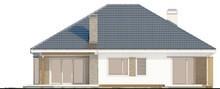 Красивый одноэтажный дом с гаражом и 4-я уютными спальнями