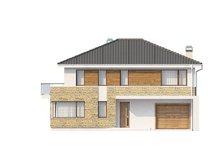 Проект стильного двухэтажного дома площадью до 200 m²