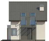 Экономичный двухэтажный коттедж с 3мя спальнями