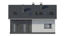Проект дома 9 на 12 с мансардой