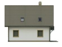 Проект стильного экономичного дома с жилой мансардой