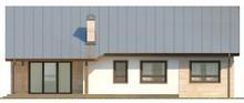 Проект классического одноэтажного коттеджа с чердаком