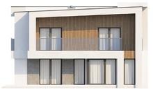 Проект двухэтажного дома с кабинетом и гаражом
