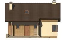 Компактный проект уютного загородного дома в классическом стиле