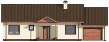 Проект одноэтажного дома вытянутой формы
