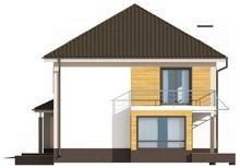Классический двухэтажный коттедж с гаражом на две машины
