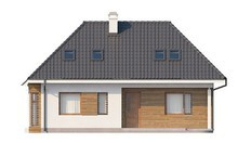 Просторный дом с мансардой и дополнительной небольшой спальней