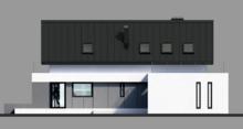Двухэтажный особняк с уютными жилыми комнатами