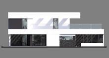 Роскошный особняк в стиле минимализма