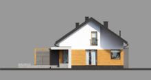 Жилой дом с мансардой и гаражом