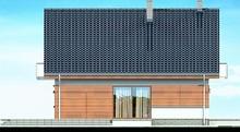 Привлекательный особняк с красивыми балконами и спортзалом