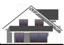 Роскошный коттедж с крышей сложной формы