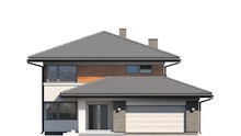 Шикарный коттедж для большой семьи с просторным гаражом