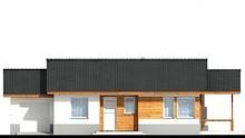 Красивый дом с просторной верандой и гаражом