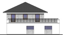 Жилой дом с большим гаражом и четырьмя спальнями