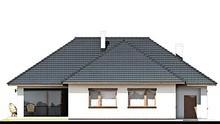 Одноэтажный современный дом с большим гаражом