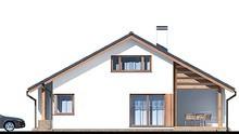 Двухэтажный дом с красивой гостиной