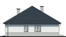 Жилой дом с колоннами и гаражом