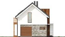 Проект красивого жилого дома с тремя спальнями