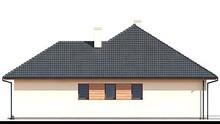 Чертежи одноэтажного жилого дома с гаражом и двумя спальнями