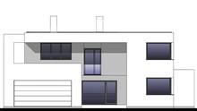 Чертежи красивого современного жилого дома