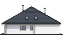 Чертежи одноэтажного особняка с тремя личными комнатами